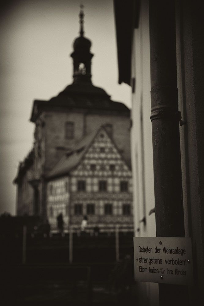 Old townhall in Bamberg.